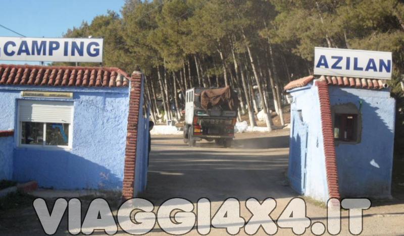 CAMPING AZILAN, CHEFCHAOUEN, MAROCCO