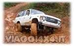 Tecnica di guida fuoristrada nel fango