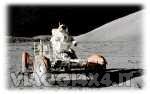 fuoristrada sulla luna