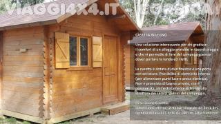 Corsica Camping - Casetta in legno