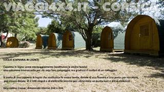 Corsica Camping - Coque in legno