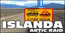 VIAGGI 4X4 - ISLANDA ARTIC RAID ESTATE 2016