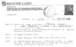 Licenza Tour operator e Agenzia di Viaggi Kraina Viaggi