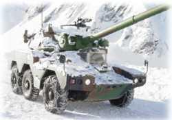 Anche i mezzi militari montano le catene