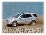 Viaggiare con un SUV Mercedes ML