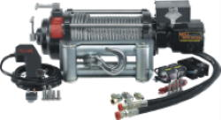 Verricello idraulico per veicoli fuoristrada