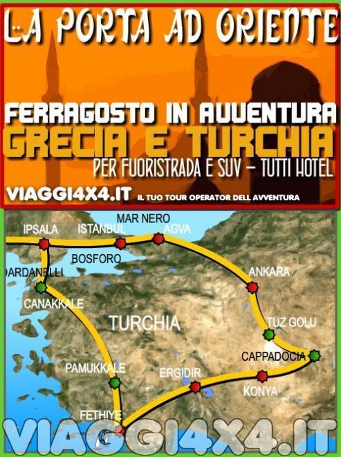 TURCHIA, PASSAGGIO AD ORIENTE