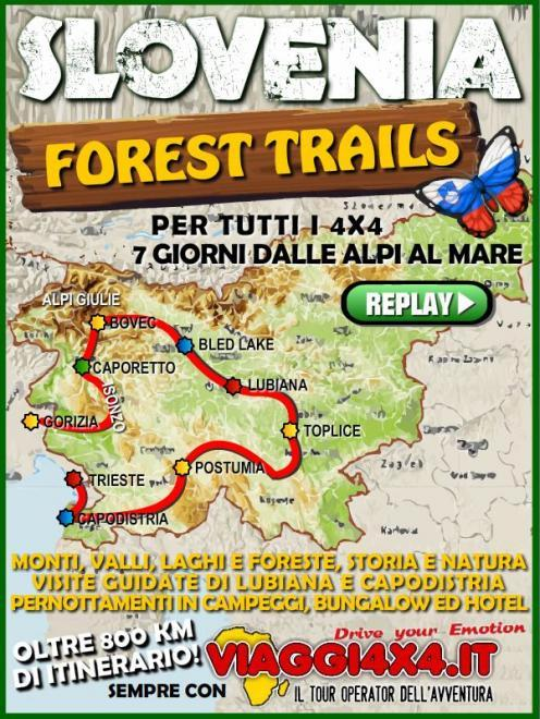 SLOVENIA 4X4 FOREST TRAILS