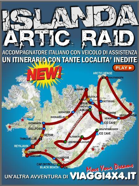 ISLANDA 4X4 AGOSTO 2017 ARTIC RAID