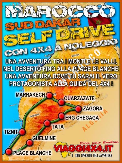 MAROCCO OASIS SELF-DRIVE 4X4 DA BERGAMO