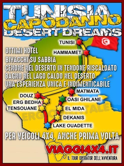 TUNISIA CAPODANNO 2019/2020  DESERT DREAMS