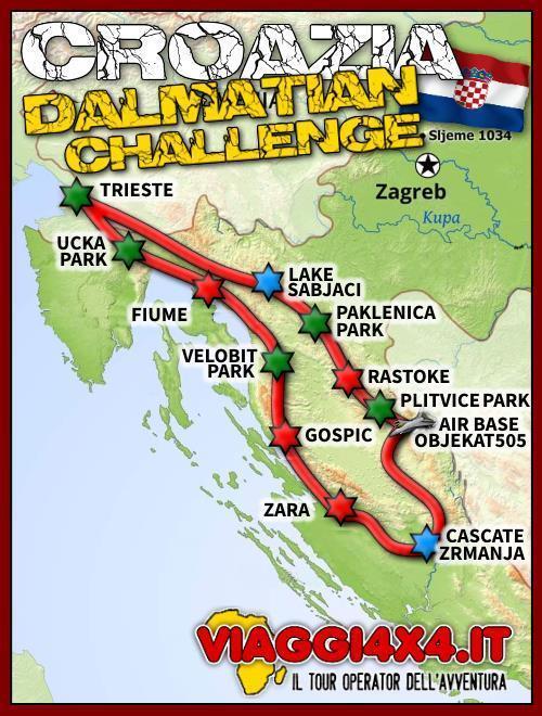 CROAZIA 4X4 DALMATIAN CHALLENGE