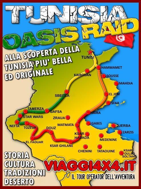 TUNISIA 4X4 OASIS RAID