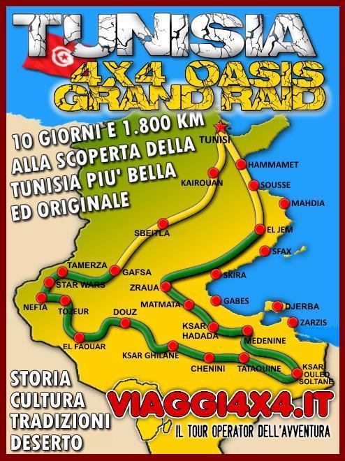 TUNISIA PASQUA 4X4 OASIS GRAND RAID