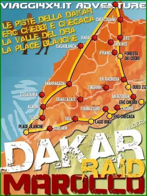 PASQUA 4X4 MAROCCO DAKAR RAID
