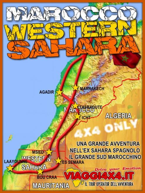CAPODANNO MAROCCO 4X4 WESTERN SAHARA