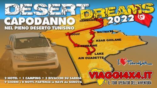 TUNISIA CAPODANNO 2022 DESERT DREAMS