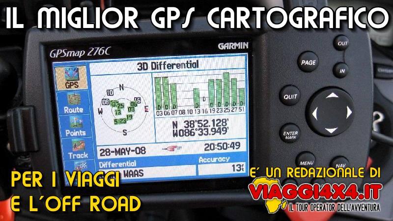 GPS Garmin Gpsmap 276c, uno strumento solifo, affidabile ed impermeabile