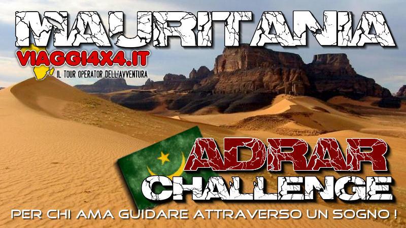 Tutte le partenze e gli itinerari per visitare la mauritania-4x4